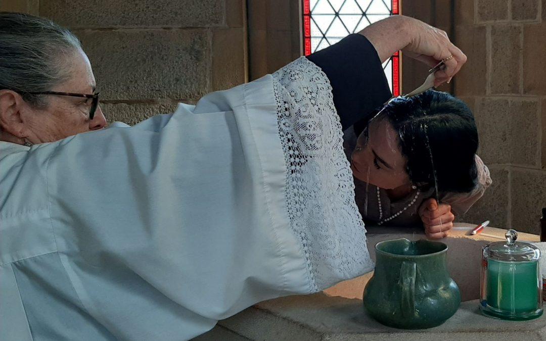 A Winter Baptism in Bodalla
