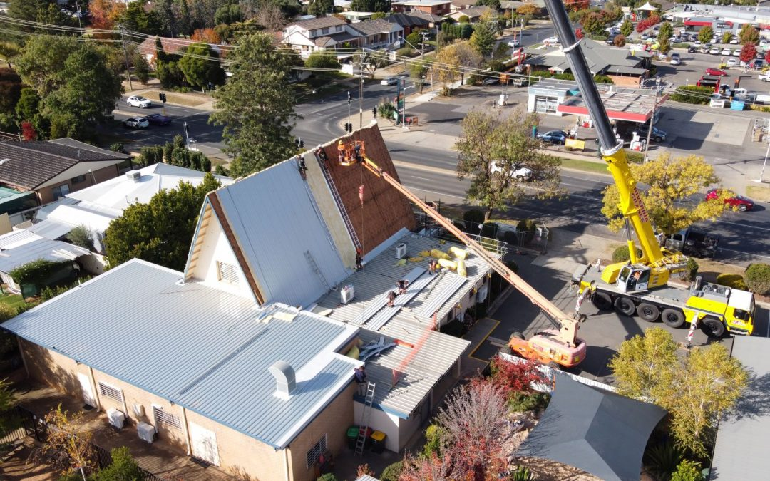 New Roof for St Alban's Kooringal
